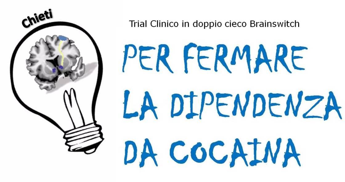 Main Brainswitch trial clinico cocaina